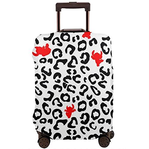 Funda de equipaje de viaje S_Tit_Ch Patrón Maleta Protector lavable Fundas de equipaje para equipaje de 25 a 28 pulgadas