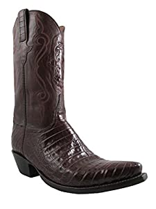 39431477c50 Lucchese Classic caiman men's cowboy boots Belly L1255.54 size 9.5 ...