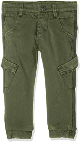 Name It Nittary Reg/r Twill Pant Mini Noos Pantalon, Vert (Kombu Green Kombu Green), 74 Bébé garçon