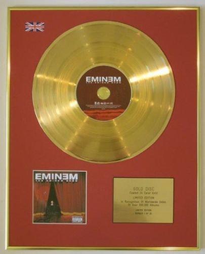 Eminem - Ltd Edtn CD Goldscheibe - The Eminem Show