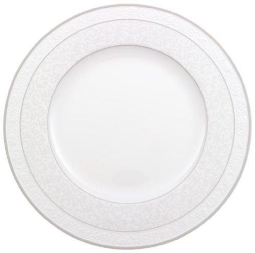 Villeroy & Boch 10-4392-2630 Assiette Plate Porcelaine Gris 29,2 x 29,2 x 8,5 cm 1 Assiette