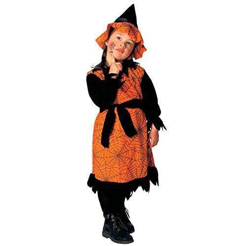NET TOYS Disfraz de Bruja Infantil Traje Mago Carnaval telarañas Disfraces Halloween niñas principito