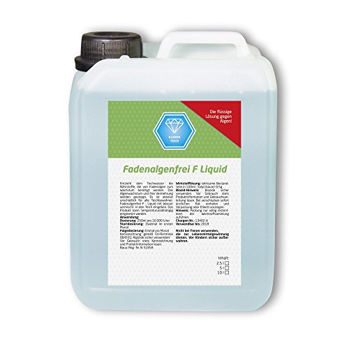 Fadenalgenfrei F Liquid 10 L Fadenalgenvernichter Fadenalgen Algen Koi Teich
