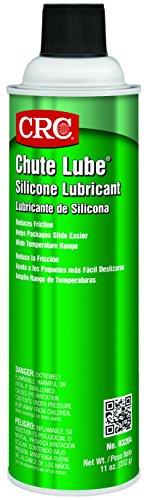 CRC 03204 Chute Lube Silicone Lubricant Spray, 20oz Aerosol ( Net fill : 11oz. )
