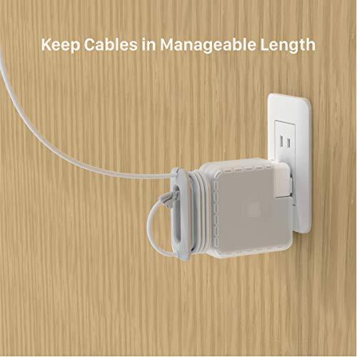 helpers lab Power Adapter Netzteil Ladegerät Hülle Reise Kabel Organizer Kompatibel mit Apple MacBook Pro Magsafe USB C 85W 87W 96W 15'' 16''