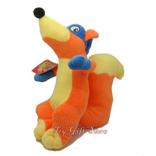 Dora the Explorer Plush Doll Fox Swiper 8'