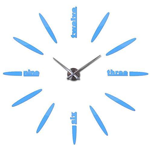 LKNS Muursticker Hot Koop Grote Wandklok Acryl spiegel Klokken Horloge Quartz Naald Home Decoratie Woonkamer Muursticker