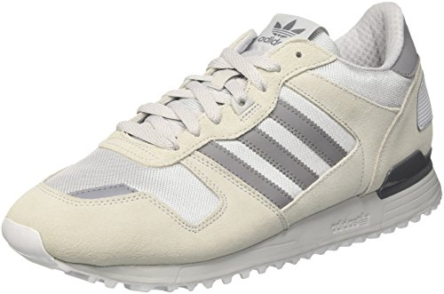 adidas Zx 700, Unisex Adults' Low-Top Sneakers, White (Clear Onix/grey/ftwr White), 8 UK (42 EU)