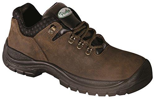 Panther 2728501LA_46 Elgin Low S3 - Zapatillas de Trabajo, Talla 46, Color marrón