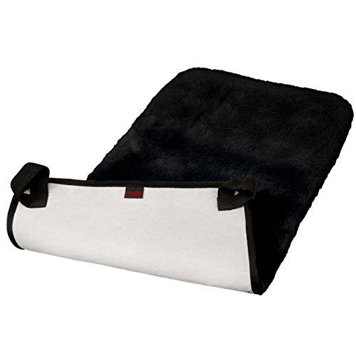 Lammfell Rollstuhlauflage von CHRIST – Lammfellauflage für Sitz und Rücken, Rollstuhl Sitzauflage und Sitzkissen aus echtem Fell erhältlich in anthrazit, in 45x85 cm