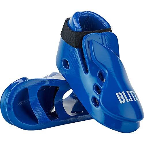 Fußschutz aus tauchlackiertem Schaumstoff, doppelt gepolstert Blau blau xs