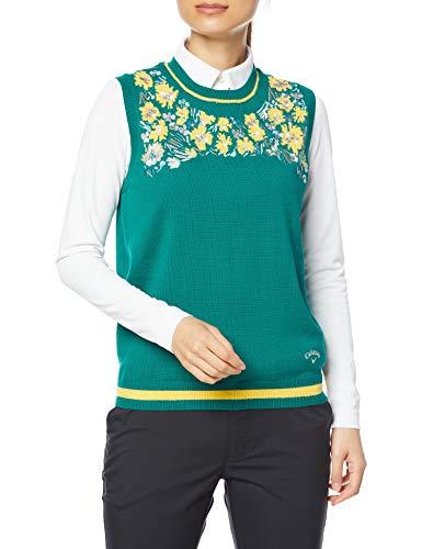 [キャロウェイ] [レディース] セーターベスト (クールマックス) / 241-1119801 / ゴルフ 140_グリーン M