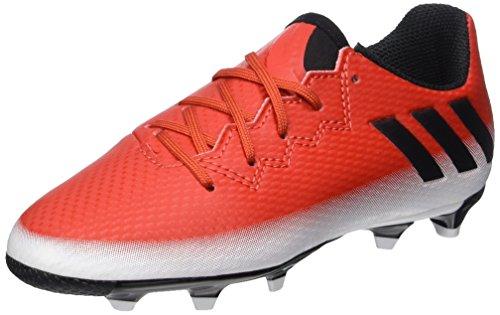 Adidas Messi 16.3 FG J, Botas de fútbol Unisex niño, (Rojo/Negbas/Ftwbla) 000,...