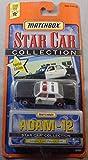 1999 Matchbox Star Car Collection Adam - 12 Grand Fury Police Car White/Black