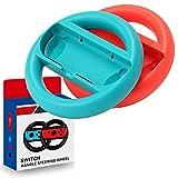Ztowoto Joy-Con Volante para Nintendo Switch Joy-Con Wheel para Mario Kart 8 Deluxe