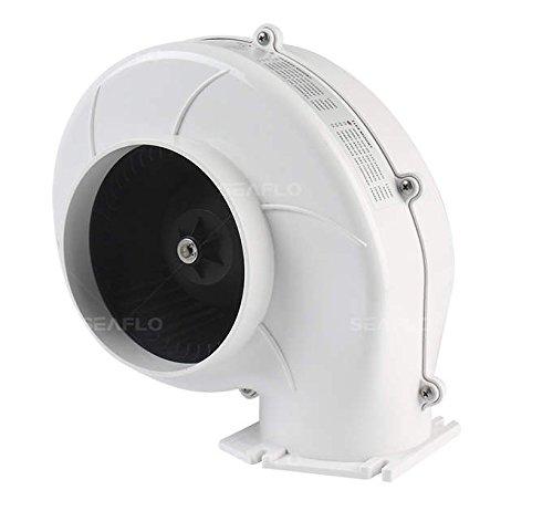 Seaflo sentina de Montaje en Brida soplador de Aire 320CFM ventilación Barco Marine 12V 4'