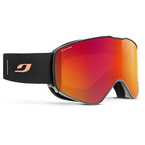 Julbo für Herren Alpha Skibrille, schwarz/orange, XL