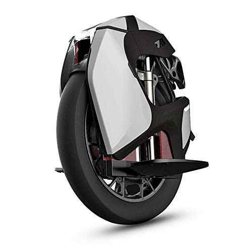 Kingsong Unisex-Adult Elektrisch Einrad S18, weiß, One Size