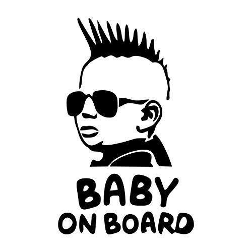 mural stickers Pegatina de bebé a Bordo – Niña a Bordo –...