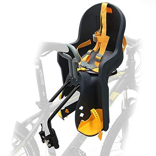 LANGYINH Kinderfiets Stoel Fietsdrager Baby Kids Stoel met Handrail Gebruik voor Mountainbikes, Hybride Fietsen, Fitness Bikes