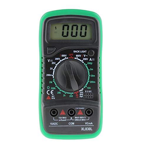 IDES Digital-Multimeter Voltmeter Amperemeter OHM Volt Tester LCD Test Strom Meter Überlast Schutz Multimeter AC DC