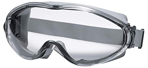 Uvex Ultrasonic Supravision Excellence Schutzbrille - Transparent/Grau-Schwarz