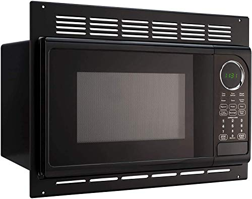 GreyStone RV Microwave | .9 Cubic Ft Black Microwave with Trim Kit | 900 Watt P90D23AP-X3-FR03 | Direct Replacement for High Pointe and GreyStone
