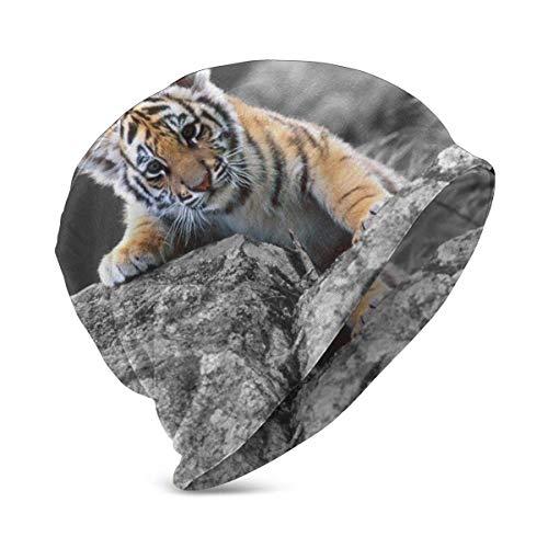 Lawenp Little Tiger Baby Gorro de Punto Niño Niña Invierno Gorro cálido al Aire Libre de Punto