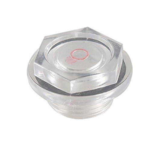 Neigei Pieza de compresor de Aire 27 mm de diámetro de Rosca Mirilla de Aceite para compresor de Aire