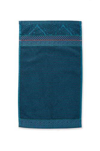 PIP Studio Handtuch Soft Zellige   blau - 55 x 100