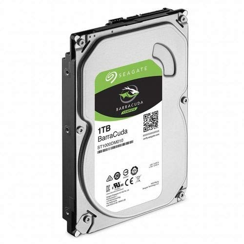 Seagate Barracuda - Disco duro interno de 1 TB, color plata