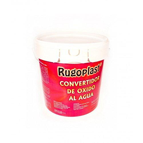 Rugoplast - Convertitore di ruggine Prodotto per trasformare la ruggine in un complesso chimico stabile di colore nero proteggendo ed eliminando la ruggine dal ferro, PW-1SW4-RXV9
