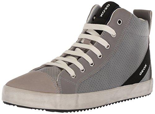 Geox Geox Jungen J Alonisso Boy A Hohe Sneaker, Grau (Grey/Lt Grey), 32 EU