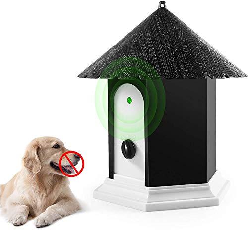 Golahead Anti Barking Device, Ultrasonic Anti Barking, Sonic Bark Deterrents, Bark Control Device, Dog Bark Contrl Outdoor Birdhouse