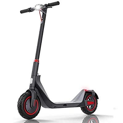 urbetter Electric Scooters Adults Folding E Scooter 35km Long Range 500W Electric Kick Scooter 10 Inches Vacuum Pneumatic Tires, G-Max (Black)