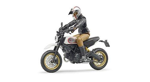 Bruder 63051 - Scrambler Ducati Desert Sled mit Fahrer