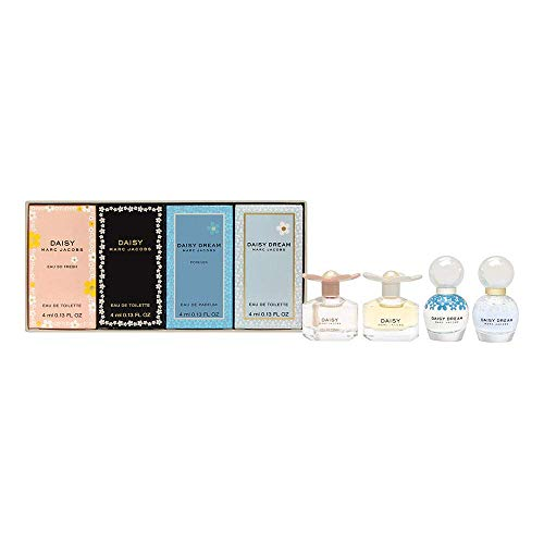 Marc Jacobs 4 Piece Daisy Variety Perfume Mini Set