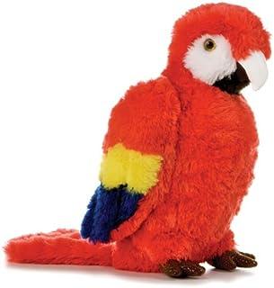 """Aurora Plush Scarlett Macaw Flopsie - 12"""""""
