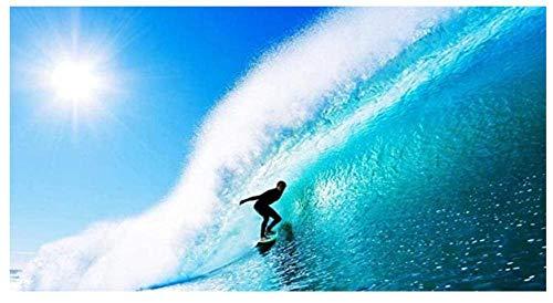 Yqgdss Surfer On A Huge Wave Rompecabezas 1500 Piezas Juego Rompecabezas De Regalo Juegos Educativos Juego Regalo De Cumpleaños