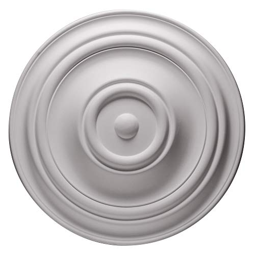 Ceiling Medallions - Ceiling Medallion for Chandeliers 31-1/2 inch (White)