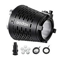 Godox SA-17 Bowens マウントアダプター SA-P プロジェクター SA-06 アイリス SA-09 GOBO セット SA-10 ホルダー VL150 VL300 SL-150WII SL-200WII など用 LED 連続ライト 劇場効果を作成