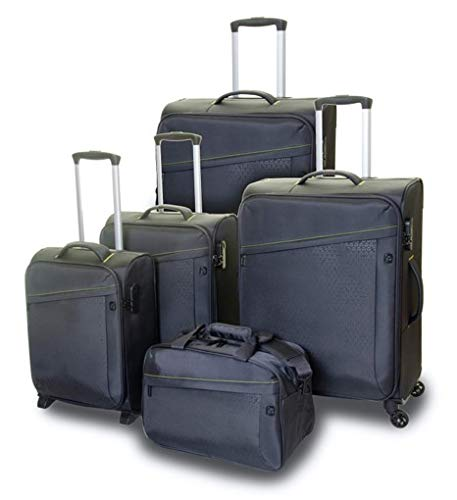 QUBEd Calculus 5 Piece Luggage Set