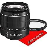 Canon EF-S 18-55mm f/3.5-5.6 III DSLR Camera Zoom Lens (New in White Box)