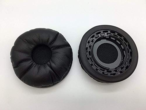 80355-01 - Reki Audio Replacement Ear Pads Cushion Leatherette for Plantronics EncorePro HW710, HW720, HW291N & HW301N Headphones