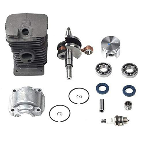 Kettingzaag Kit 38mm Pin Ring Cilinder Zuiger Olie Seal Onderdelen Tuin Krukas Crank Lager Motor Tool voor STIHL MS170 MS180