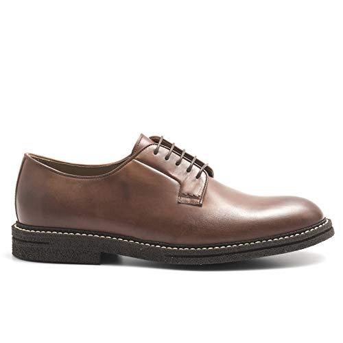 J.Wilton Zapatillas Derby de piel envejecida, color marrón – 116 5033 Venice...