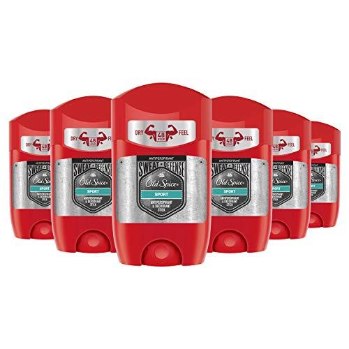 P&G Old spice sweat defense antitranspirant deo stick 6 x 50ml