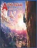 Agenda Escolar 2021-2022: Agenda Escolar ZELDA 2021-2022 planificador planificación semanal, 1 día por página, organizador escolar Para niños, niñas, ... ... / 11 meses (septiembre 2021 / julio 2022)