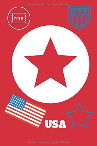 Notizbuch - USA: Journal für Notizen, Pläne, Träume und Ziele, ca. A5