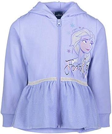 Disney Frozen Queen Elsa Princess Anna Big Girls Costume Hoodie Blue 10 12 product image